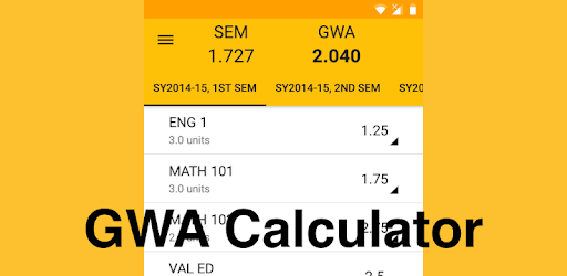 GWA Calculator (MyUste) - Apps on Google Play