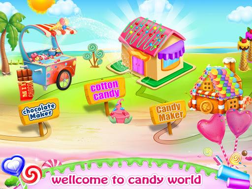Cotton Candy & Sweet Maker Kitchen painmod.com screenshots 5