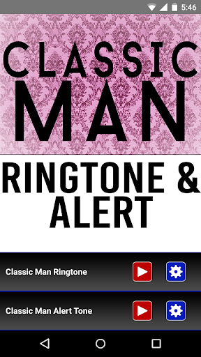 Classic Man Ringtone and Alert