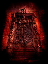 """Photo: Dante's Gates of Hell  - This is Rodin's huge famous La Porte de l'Enfer, also known as the Gates of Hell.  I found it off to the side of the Musee Rodin in Paris while I was in a tempestuous mood.  The sculpture depicts a scene from Dante's """"The Inferno.""""  It contains over 180 of his finest sculptures.  If you look closely towards the center of the top, you can see """"The Thinker,"""" one of his most famous.  - from Trey Ratcliff at http://www.StuckInCustoms.com - all images Creative Commons Noncommercial"""
