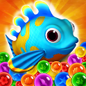 Panda Bubble Shooter - Save the Fish Pop Game Free icon