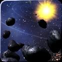 Asteroid Belt Free L Wallpaper icon