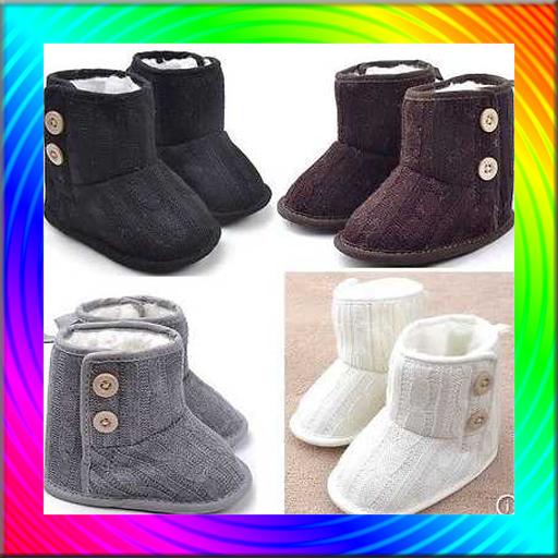 Sweet Baby Shoes Design Idea