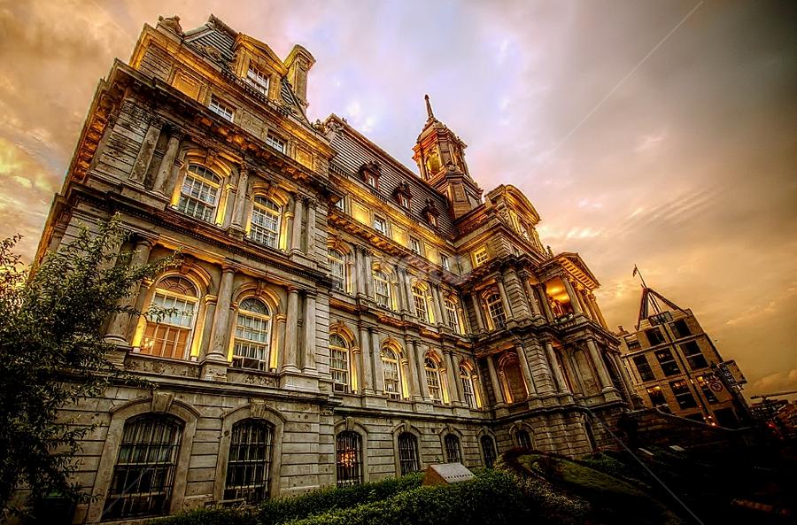 Hotel de Ville , Montreal  by Jhonie Kiem - Buildings & Architecture Office Buildings & Hotels