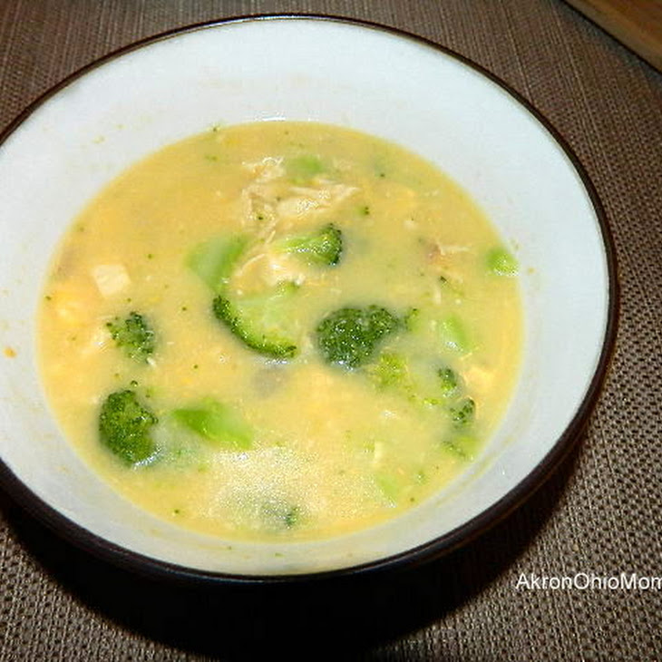 Chicken, Broccoli, Cheddar Soup