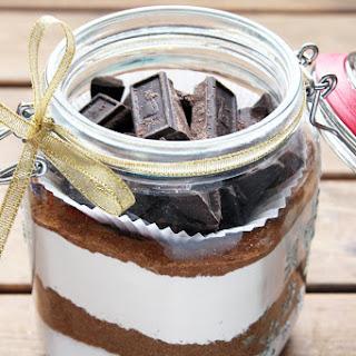 Gingerbread Brownie Bites + Brownie Mix In A Jar