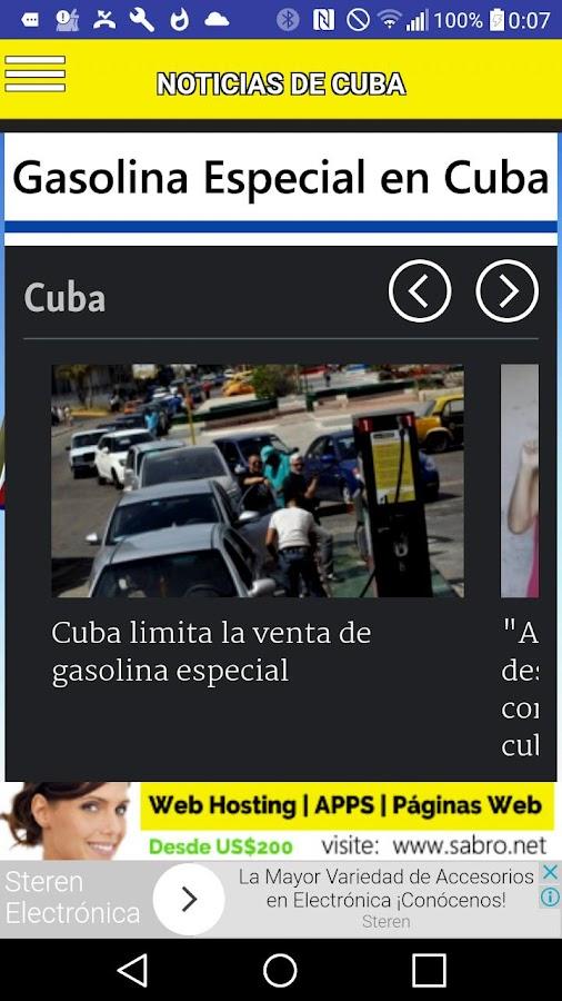 Noticias de cuba app siticias android apps on google play for App noticias android