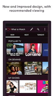 Virgin TV Anywhere se skermkiekie-kleinkiekie