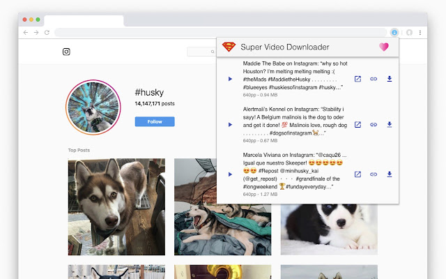 Super Video Downloader for Chrome