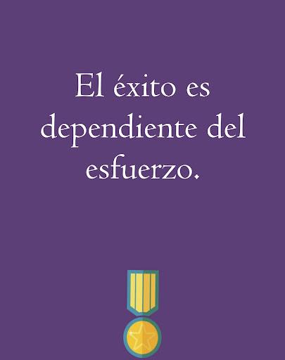 スペイン語で動機付けの引用符