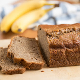 Brown Sugar, Cinnamon, Sour Cream Banana Bread.