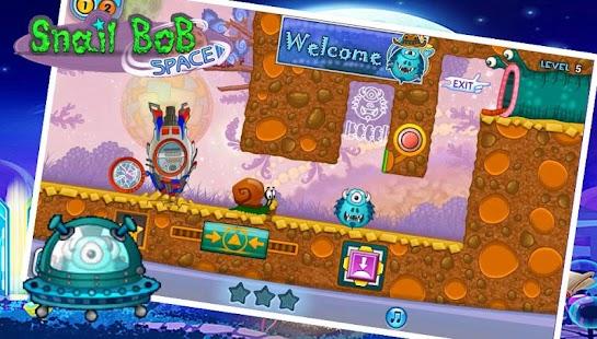 Snail Bob: 4 Space Adventure - náhled