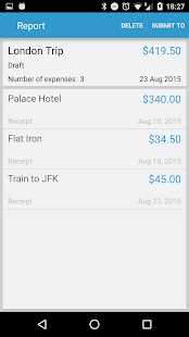 Expense Reports and Claims- screenshot thumbnail