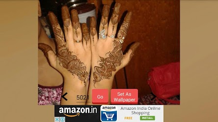 Latest Mehndi Designs 2017 APK Download – Free Art & Design APP for Android 4