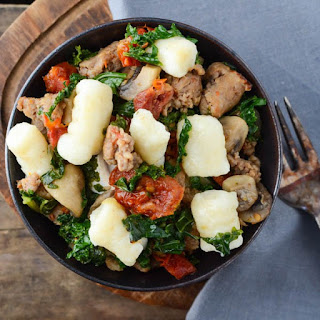 Gnocchi With Sausage Kale And Sun-dried Tomatoes