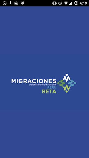 Migraciones Perú Beta