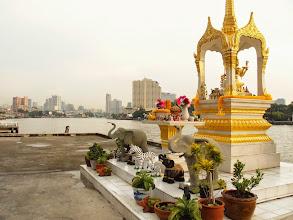 Photo: Temple au bord du fleuve de Chao Phraya - Bangkok