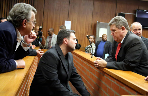 Christopher Panayiotou appears in the Port Elizabeth Magistrates' Court. File photo