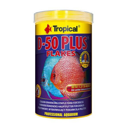 Tropical Discus D50 Plus 1000ml/200g