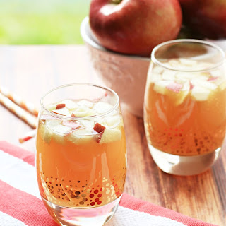 Non Alcoholic Apple Pie Punch.