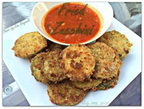 """Fried Zucchini """"This is a great method to use when you have..."""