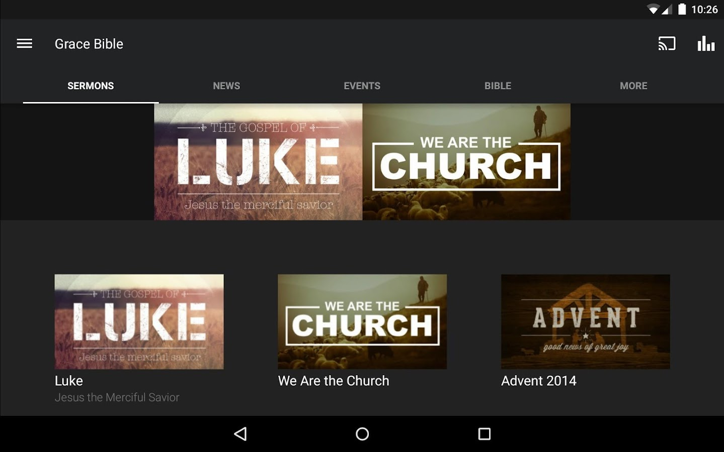 Grace Bible Church of Bend- screenshot