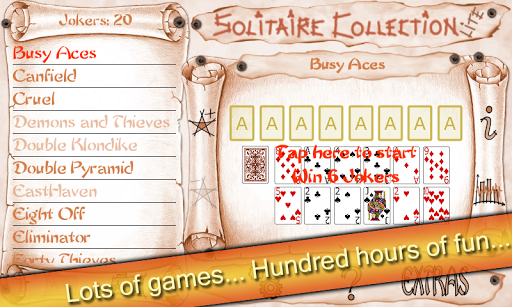 Solitaire Collection Lite  screenshots 1