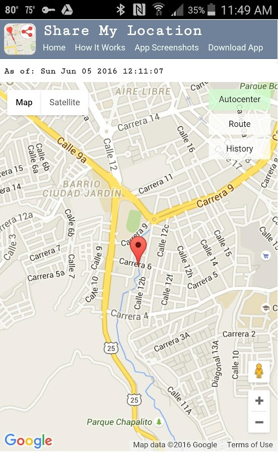 Share My Location: GPS Tracker- screenshot