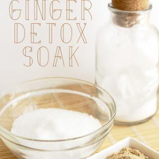 Ginger Detox Bath Soak.