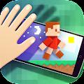 Cube Pixel Man - Light Runner