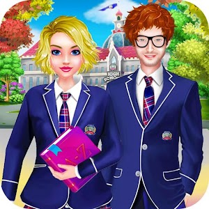 High School Life Dress Up: Girls Makeover Game