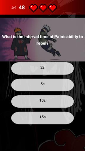 Akatsuki Quiz 1.0.0 screenshots 4