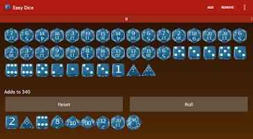 Screenshot of Easy Dice