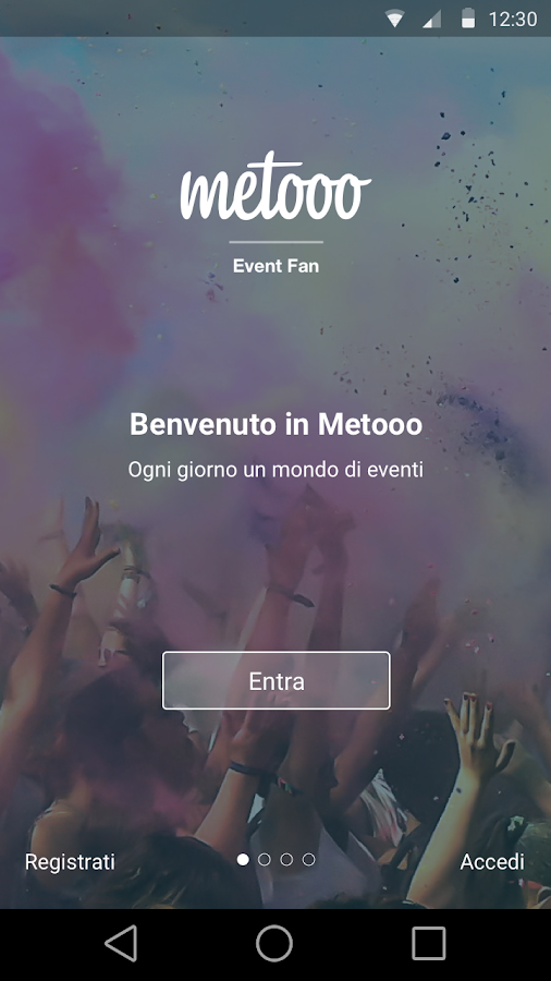 Metooo Event Fan- screenshot