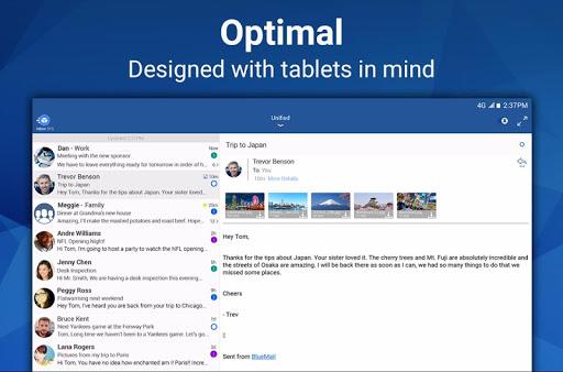 Blue Mail - Email & Calendar App - Mailbox 1.9.5.9 screenshots 10