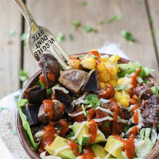 Low Fat Vegan Mexican Taco Bowl