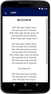 Kanda Bongo Man Songs Lyrics - náhled
