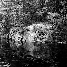 Photo: Isläggning på Gårdsjön, Svartedalen 08