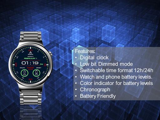 Digitalism Watch Face 1.0 screenshots 3