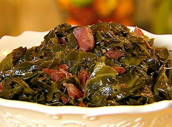 Aprie's Gourmet Collard Greens Recipe