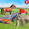 Animal Zoo Transport Simulator icon