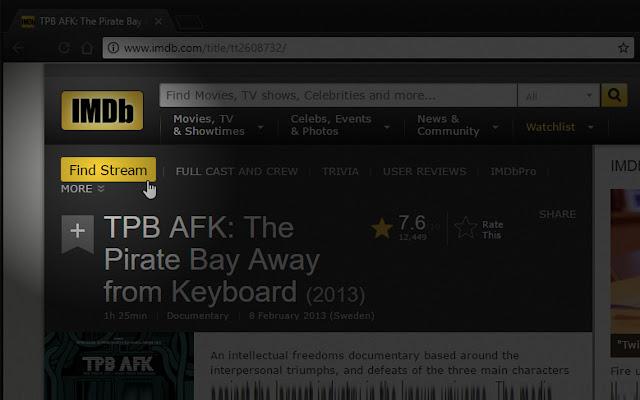 IMDb Stream Finder