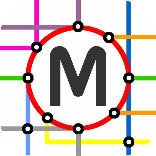 Montpellier Tram Map