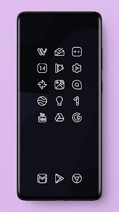 Caelus White Icon Pack – White Linear Icons 3
