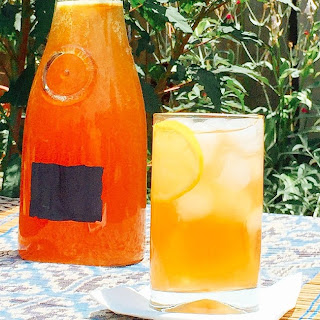 Pomegranate Lemonade.