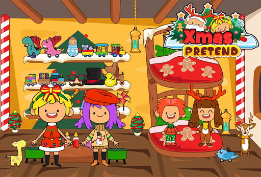 My Pretend Christmas - Kids Holiday Party FREE 1.2 screenshots 4