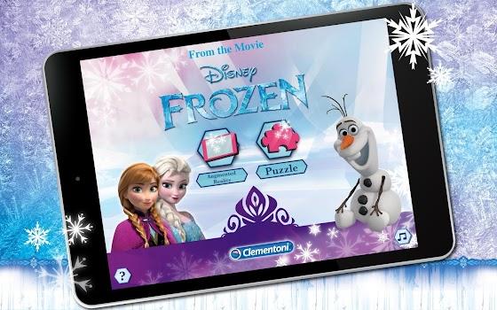 Puzzle App Frozen