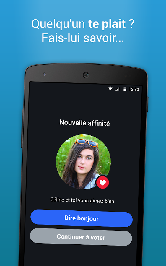 Application rencontre flirt