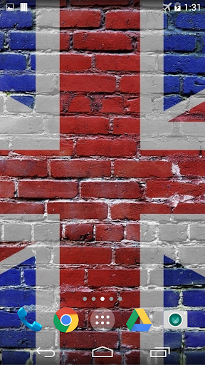 British Flag Live Wallpaper