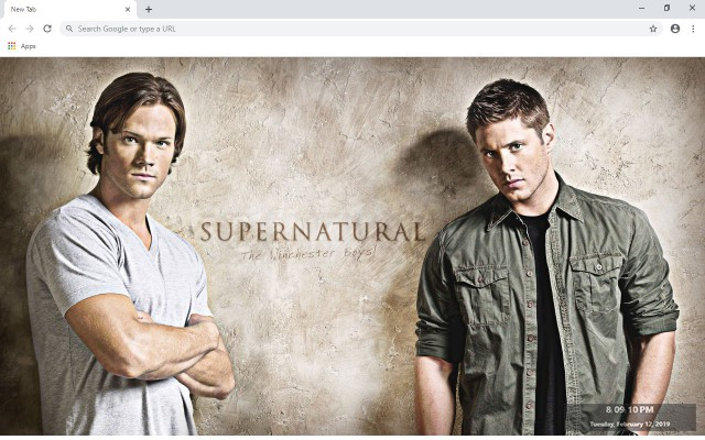 Supernatural New Tab & Wallpapers Collection